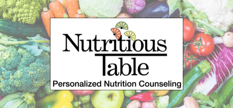 Header Logo Nutritious Table Personal Nutrition Counseling
